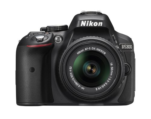 Nikon D5300 24.2 MP CMOS Digital SLR Camera with 18-55mm f/3.5-5.6G ED...