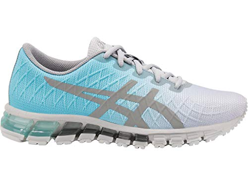 ASICS Women's Gel-Quantum 180 4 Running Shoes, 11M, ICE Mint/Stone Grey