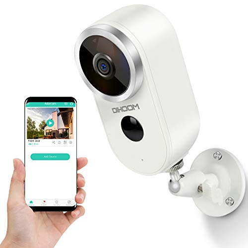 Wireless Battery Security Camera Outdoor-DIHOOM...