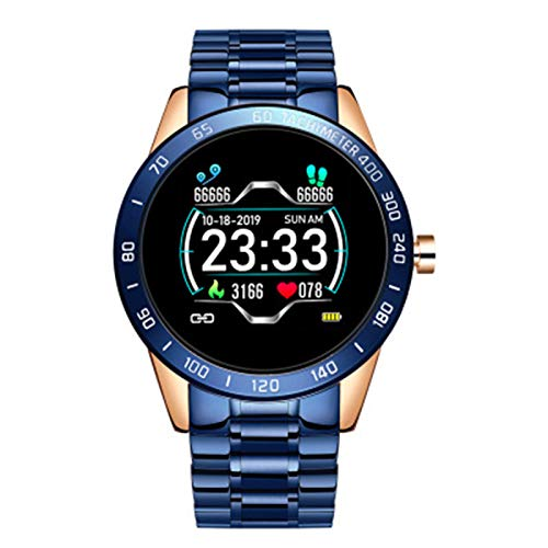 FZXL Smart Watch Watch Bluetooth Llame A Múltiples Marcos IP67 Pantalla HD Impermeable,C
