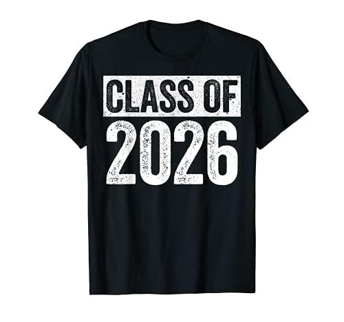 Class Of 2026 Camiseta Senior 2026 Graduación Regalo Camisa Camiseta