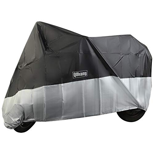 Waterproof Oxford Fabric Heavy Duty XL Motorcycle Cover with Storage Bag for Indoor Outdoor Anti Dust Rain UV Protection