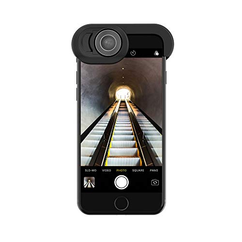 Olloclip Objetivos para iPhone SE 2020, 8 y 7 Ojo de pez, Super Wide y Macro