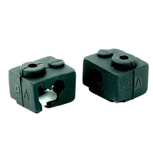 3D FREUNDE 2 calze in silicone per E3D V6 Clone Heater Block estrusore Hotend RepRap Prusa I3 Makerbot stampante 3D