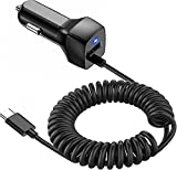 Compatible for Samsung Galaxy S10 S20 S10E USB Type C Car Charger, Carhope Ultra Rapid Retractable Dual-Port Charger Adapter USB C Cable for Samsung S9 S8 S9+ Note 8 Note 9, LG G6 / G5, Google Pixel