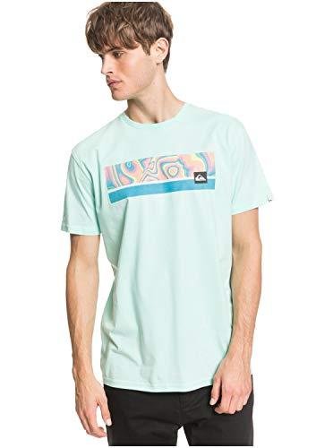 Quiksilver Jam It - Camiseta para Hombre - Camiseta de Cuello Redondo Hombre