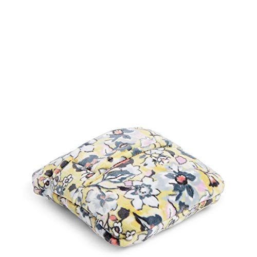 Vera Bradley Fleece Travel Blanket with Trolley Sleeve, Sunny Garden