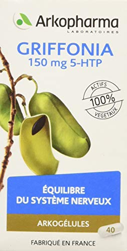 Arkopharma Arkogélules Griffonia Nouveau Compléments Alimentaires - 40 gélules - 150 mg
