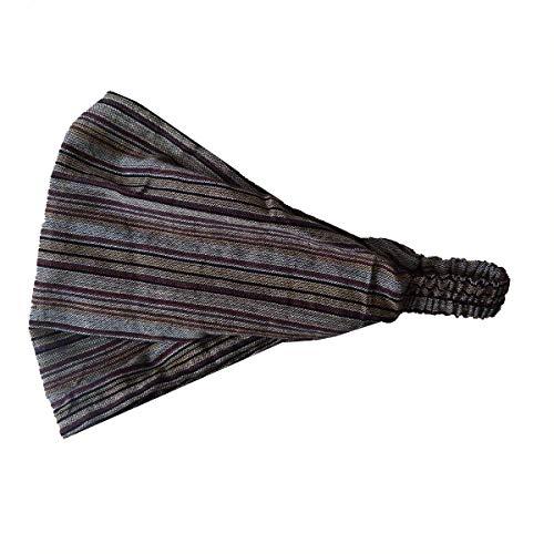 Haarband Stirnband Kopfband Kopftuch Schweißband Haarschmuck Sport Fitness Yoga Mütze (Braun)
