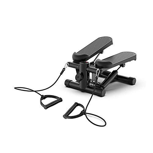 AOLI Cubierta la pérdida de peso que adelgaza Pedal automático Mini-hidráulica Stepping escalador paso a paso aeróbico,Negro