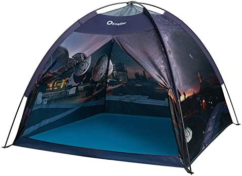 Exqline Space Kids Play Tent Children Galaxy Dome Playhouse Portable Astronaut Space Theme Play product image