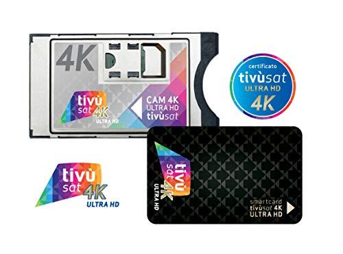 Tivusat Cam 4 Ultra HD Schwarz