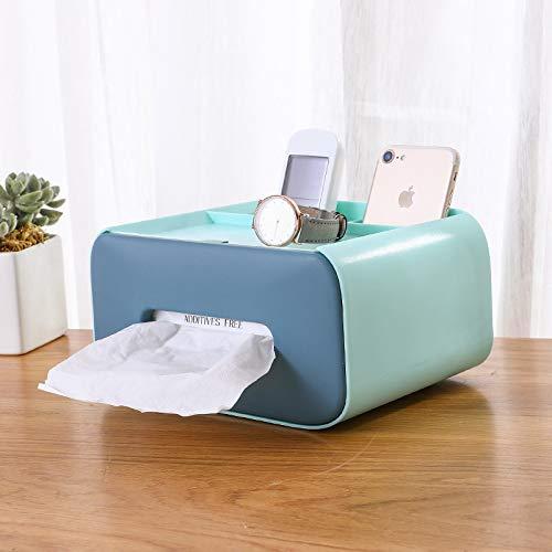 Caja de pañuelos de escritorio, mesa de centro, comedor, sala de estar, cajón multifuncional, caja de pañuelos de papel higiénico