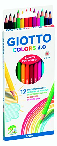 Giotto Colors 3.0 Estuche de 12 Lápices de Color
