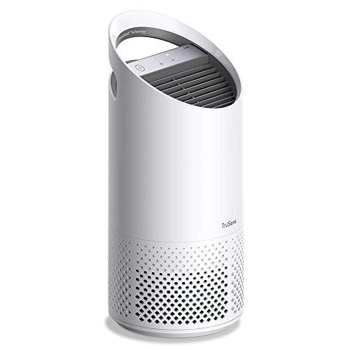 Leitz TruSens Z-1000 Luftreiniger mit UV-C Lampe fängt luftübertragene Bakterien, Allegene, Staub, Gerüche und Rauch, für gereinigte Raumluft in kleinen Räume bis 23 m², 2415112EU