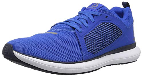 Reebok Men's Driftium Ride Running Shoe, Vital Blue/Collegiate Navy, 9 M US