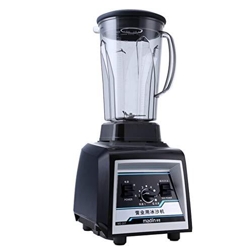 Smoothie-Mixer, 1100w All-In-One-Standmixer-KüChenmaschine Mit 2-Liter-Glaskanne FüR Obstmischungen, Pulsmodus, 6-Fach-Steuerung, GemüSe, KräUter, NüSse