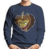 Cloud City 7 Big Mouth Hormone Monster Men's Sweatshirt