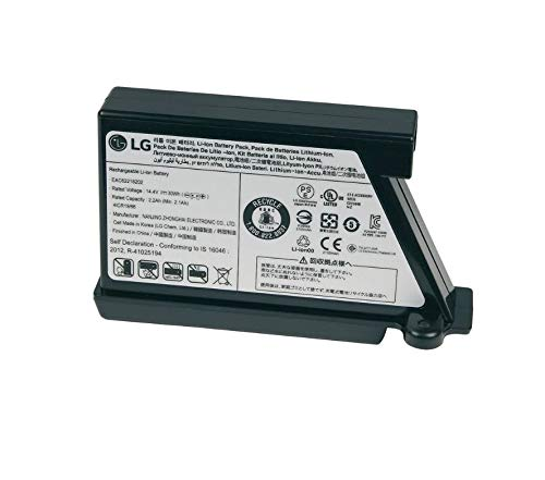 Bloque de batería para robot aspirador de 14,4 V, repuesto para LG Electronics EAC62218202