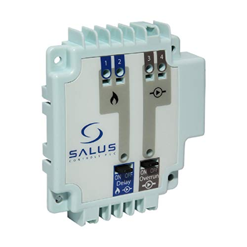 Salus Controls 132.130 Salus PL07-Módulo de Control regleta KL06, lógico de Caldera y módulo de Bomba, 230 V, Gris