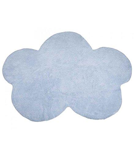 Happy Decor Kids hdk-206 Tapis lavable Bleu, 120 x 160 cm