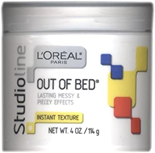 L'oreal Studioline Out Of Bed Lasting Messy & Piecey Effects, Instant Texture, 4 OZ