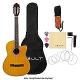 VAULT 39-inch Cutaway Classical Guitar (Natural)