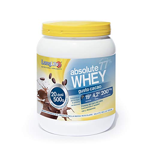 Longlife Absolute Whey Cacao - 510 Gr