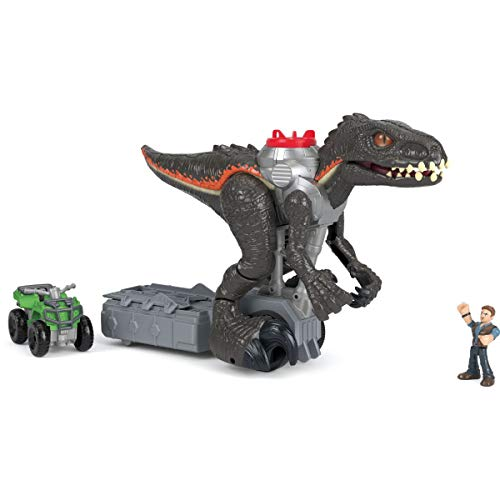 Fisher-Price Indoraptor Toy Walking Dinosaur – Imaginext Jurassic World