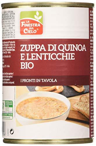 La Finestra Sul Cielo  Zuppa di Quinoa e Lenticchie Bio - 400 g