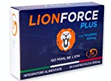 LIONFORCE PLUS | 30 COMPRESSE 1000 Mg CADUNA | MADE IN ITALY | NUOVA FORMULA 100% NATURALE | TAURO PLUS | TAURINA BOOST AD AZIONE EXTRA RAPIDA | GO MAN BE LION