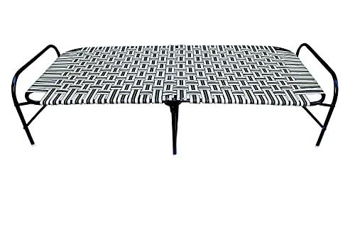 "AVANI METROBUZZ Niwar Paint finish Smart Strong Folding Single Bed (Medium 36""X72)"