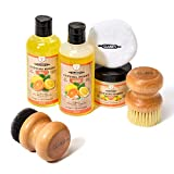 CLARK'S Complete Cutting Board Care Kit | Cutting Board Oil (12oz) - Soap (12oz) - Finish Wax (6oz)...