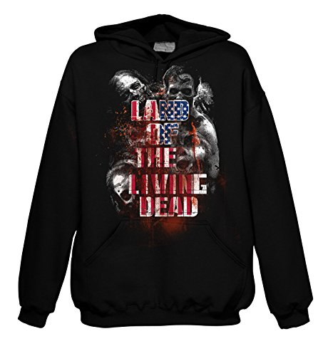 Chameleon Clothing Geek Land of The Living Dead 702223 Hood 001 2XL
