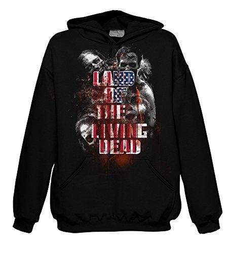 Chameleon Clothing Geek Land of The Living Dead 702223 Hood 001 2XL