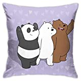 Yuanmeiju Decorative Throw Pillow Covers for Sofa Couch Cushion Pillow Cases 18x18 Inch