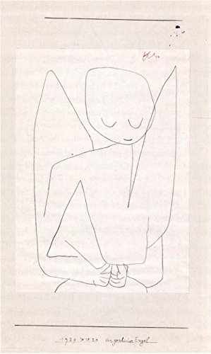Spiffing Prints Paul Klee - Vergesslicher Engel - Large - Matte Print