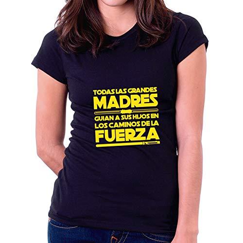 Camiseta Dia de la Madre Los Caminos de la Fuerza (L - Entallada)