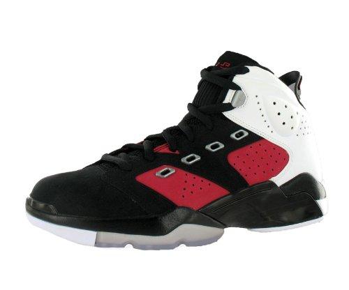 NIKE Mens Basketball Shoes Jordan 6-17-23 Black/Carmine/White SZ 11