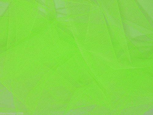 Flo verde rollo de tul red tela 140 cm extra anchos para...