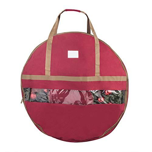Elf Stor 83-DT5167 Ultimate Red Holiday Christmas Storage Bag for 48