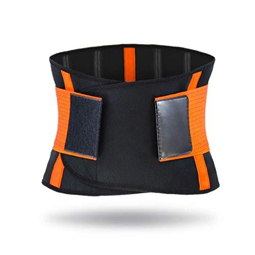 Cinturón de apoyo lumbar ajustable para el alivio del dolor de espalda cinturón para hombre entrenador muscular, corsé ortopédico para el cuidado de la salud