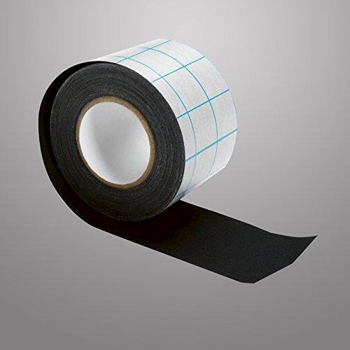 Modulor filmoplast® T Textilgewebe selbstklebend 240 µm säurefrei, schwarz, 10m x 5 cm