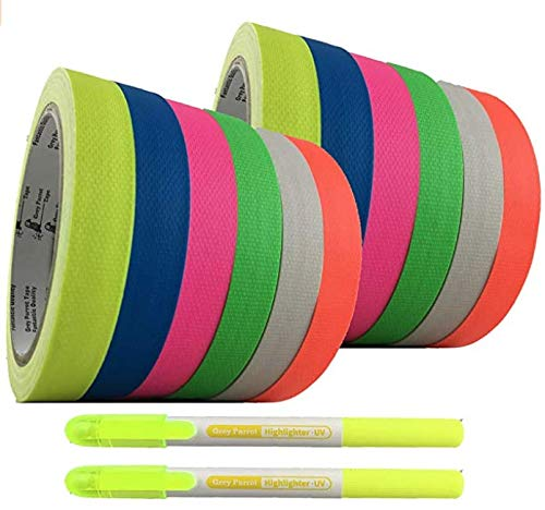 GreyParrot Tape Fluorescent Cloth Reflective Under Bl Best Selling 2021 new rankings