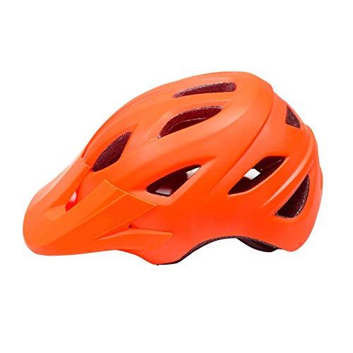 SFBBBO Casco Bicicleta Casco de Ciclismo con Visera Ultraligero MTB Bicicleta de...
