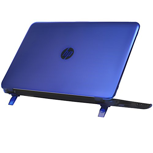 mCover Hard Shell Case for 15.6' HP Pavilion 15-ccXXX (15-cc000 to15-cc999) Series (NOT Fitting 15-ayXXX or 15-baXXX or 15-auXXX Series or Envy laptops) Notebook PC (Pavilion-15-CC Blue)