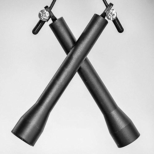 Qutdoor-QJ Cuerda de Salto de Velocidad para acondicionamiento físico Pérdida de Grasa Boxeo Intervalo de MMA Entrenamiento