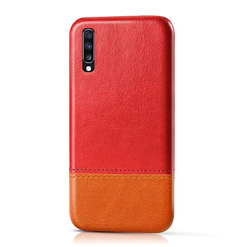Suhctup Compatible pour Nokia 9 PUREVIEW Coque Cuir Premium Ultra Mince Multicolore Étui Style de Design Facile Mode Housse Anti-Choc Antidérapant Protection Cover(Rouge Marron)