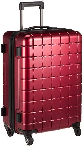 [プロテカ] スーツケース 日本製 360Tメタリック キャスターストッパー付 保証付 45L 55 cm 3.7kg レッド