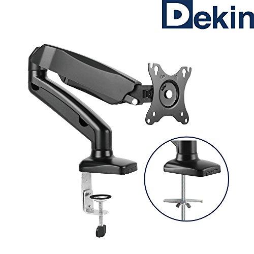 DEKIN Monitor Tischhalterung DK201M Displayhalterung mit Gasdruckfeder für 13